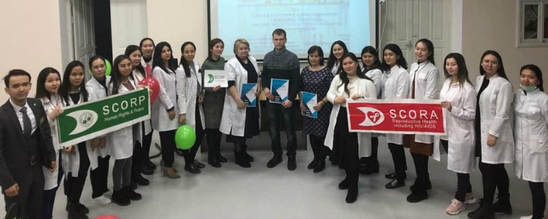 """MED talks by KazMSA"" to protect the rights of medical personnel was held At WKSMU named after M. Ospanov"